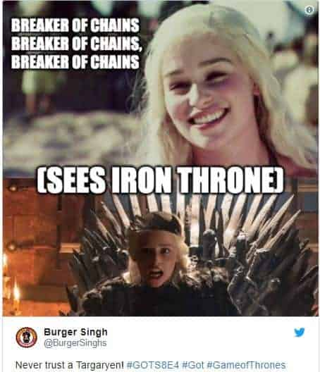 game of thrones episode 4 memes