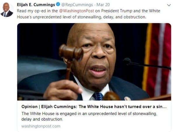 20 Best Elijah Cummings Memes