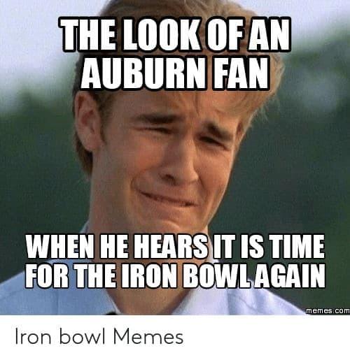 15 Best Iron Bowl Memes