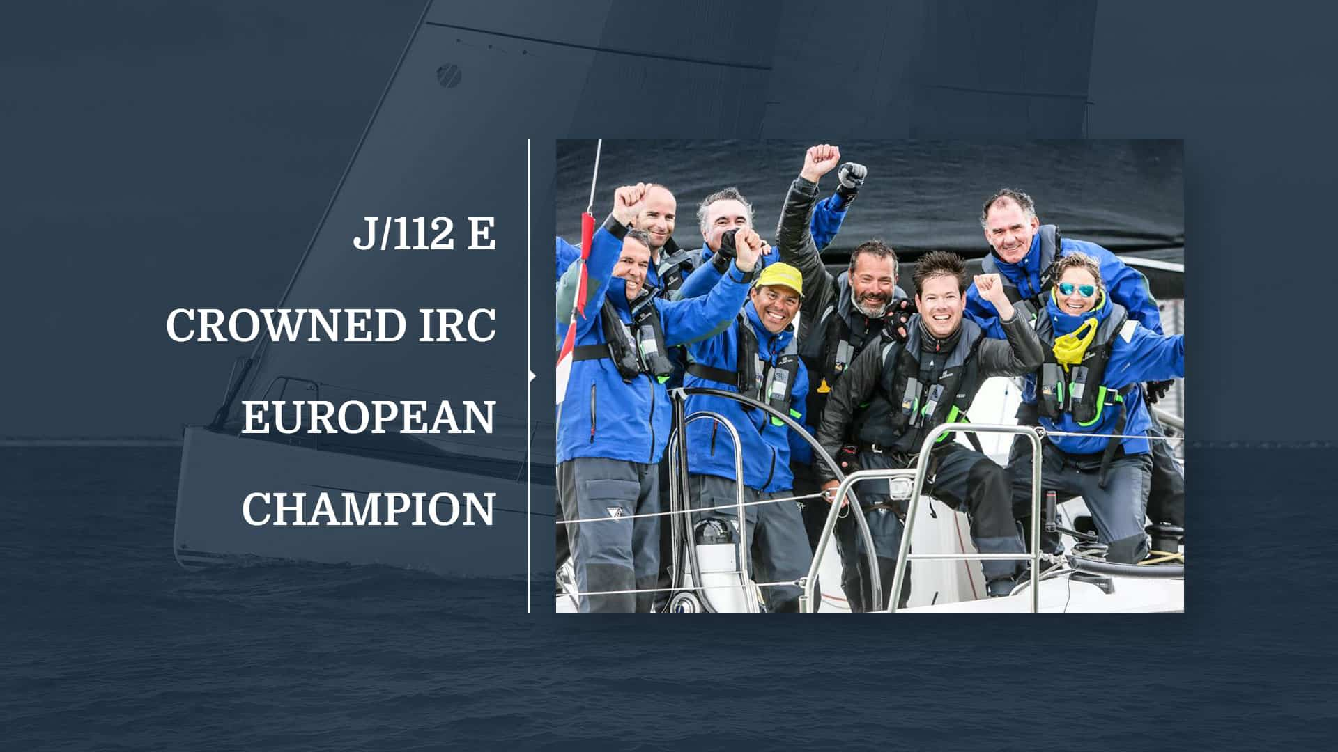 The J/112 Elegance wins the European IRC Championship