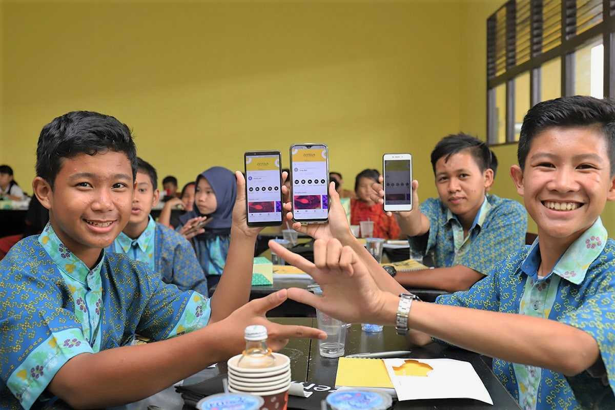 EdTech Startup Indonesia Northstar Group Education Zenius