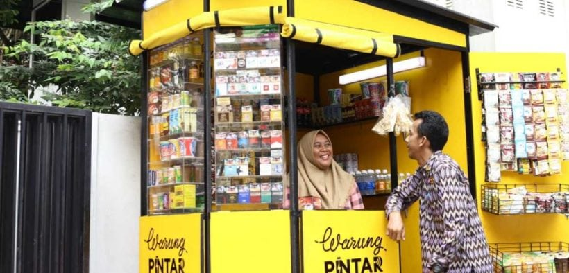 Warung Pintar Boosts Grocery Store Turnover through Supply Chain
