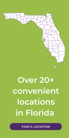 Over 20 Convenient Locations in Florida