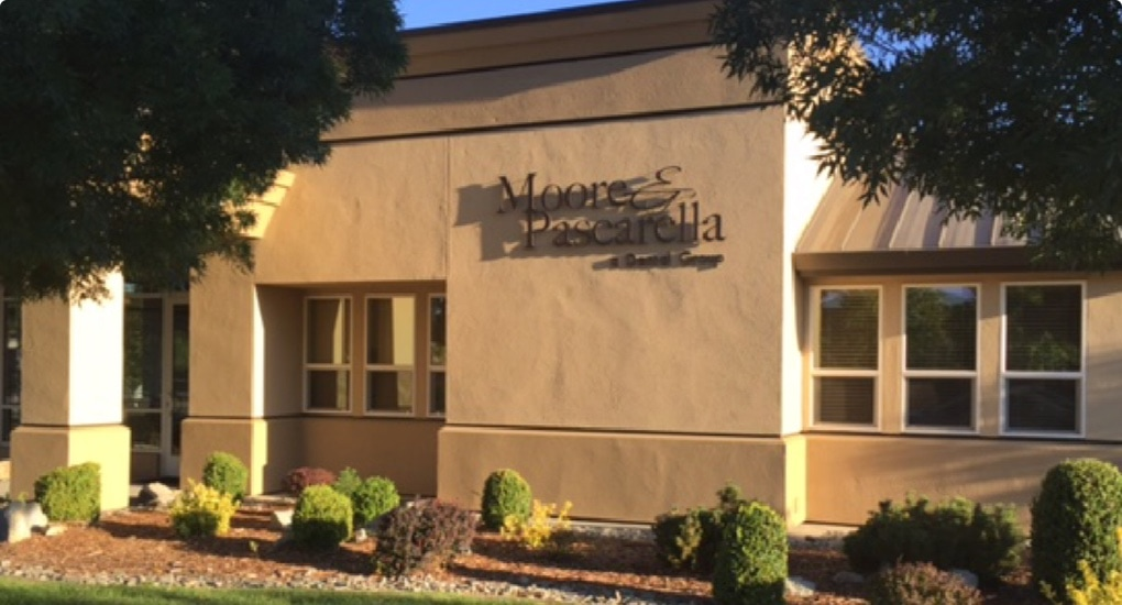 Moore & Pascarella dental office in Redding, CA.