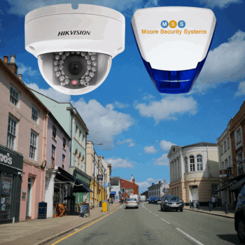 CCTV and alarm systems in Lutterworth town centre