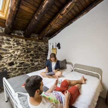 Mountain hostel tarter andorra private room-25