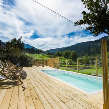 Mountain hostel tarter andorra outdoor pool jacuzzi swim spa-107