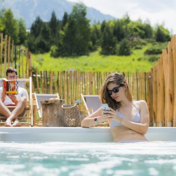 Mountain hostel tarter andorra outdoor pool jacuzzi swim spa-114