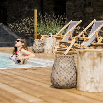 Mountain hostel tarter andorra outdoor pool jacuzzi swim spa-115