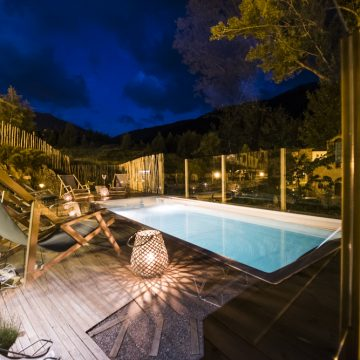 Mountain hostel tarter andorra outdoor pool jacuzzi swim spa night-69