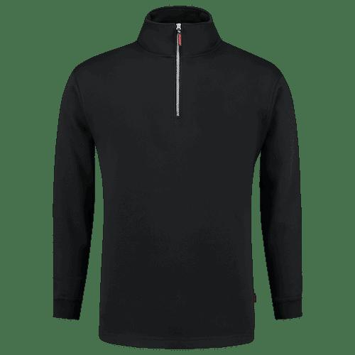 Tricorp Sweater Ritskraag vest - zwart