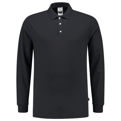 Tricorp Slim Fit polosweater - donkerblauw