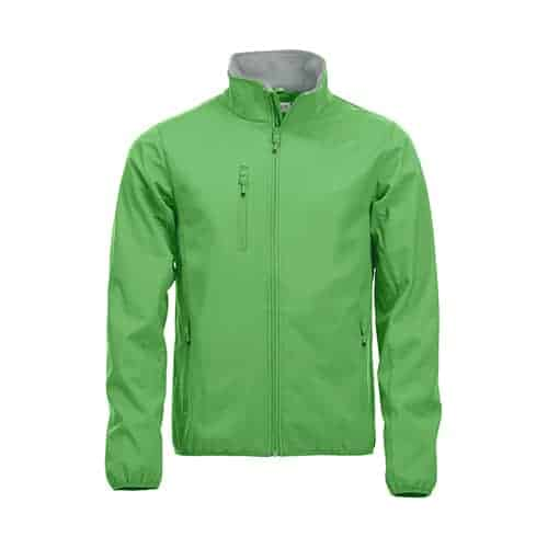 Clique Basic Softshell jas - groen