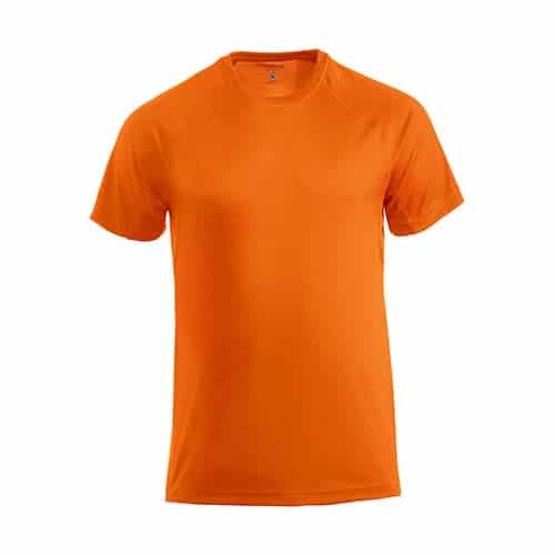 Clique Basic Active T-Shirt - oranje