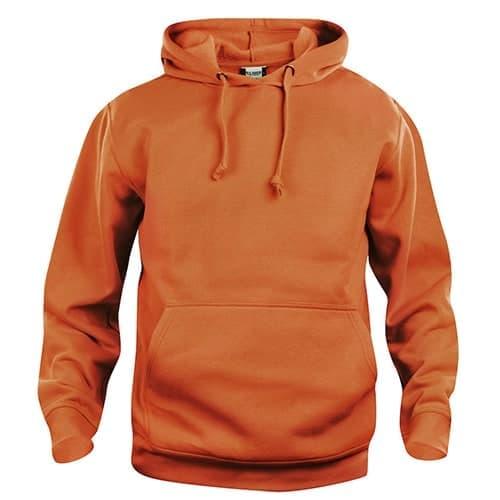 Clique Basic Hoody trui - oranje