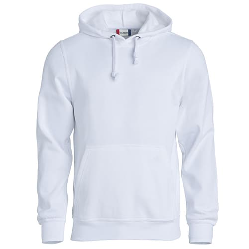 Clique Basic Hoody trui - wit