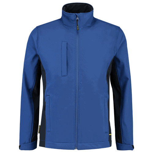 Tricorp Bicolor Softshell jas - blauw/donkerblauw