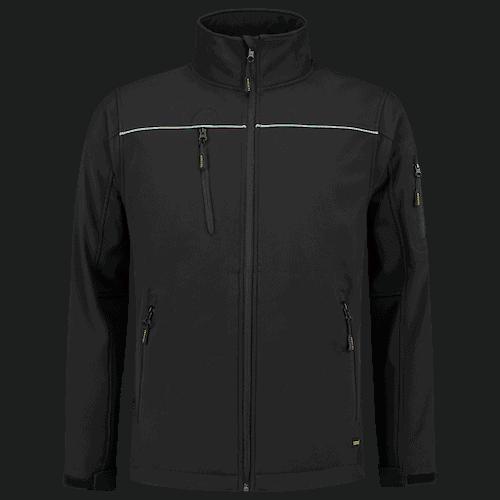 Tricorp Luxe Softshell jas - zwart