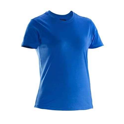 Jobman 65526510 dames T-shirt - blauw