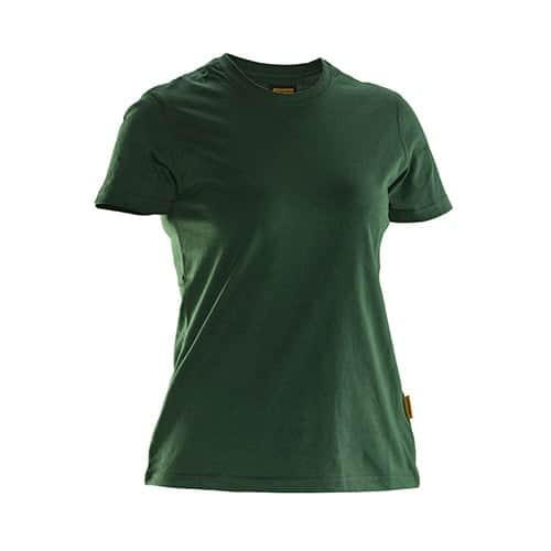 Jobman 65526510 dames T-shirt - groen