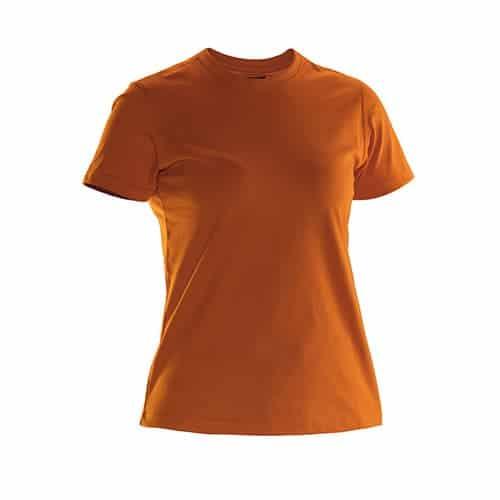 Jobman 65526510 dames T-shirt - oranje