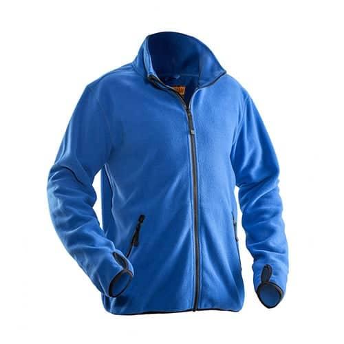 Jobman 65550175 fleece jas - blauw