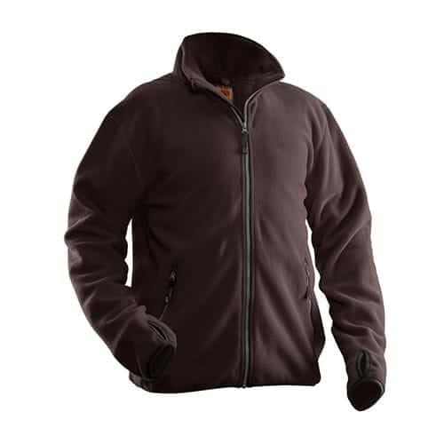 Jobman 65550175 fleece jas - bruin