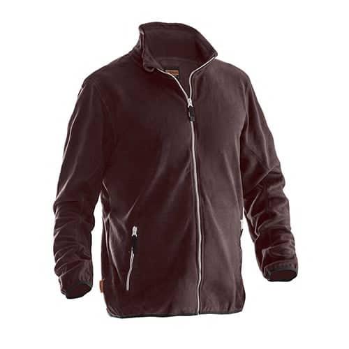 Jobman 65590154 fleece jas - bruin