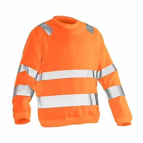 Jobman 65NO115065 roundneck trui - oranje