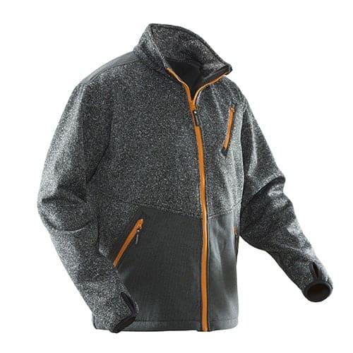 Jobman 65124773 softshell jas - zwart
