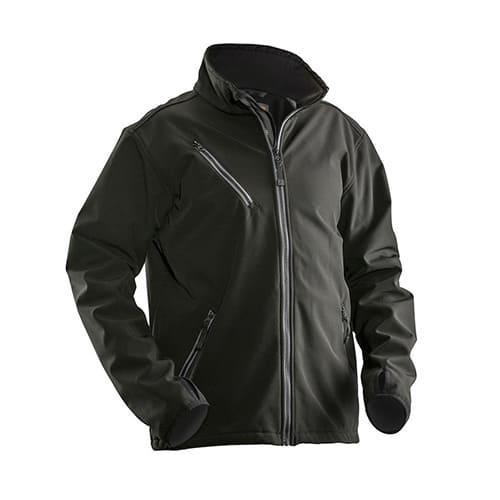 Jobman 65120171 softshell jas - zwart