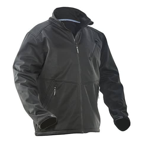 Jobman 65120871 softshell jas - zwart