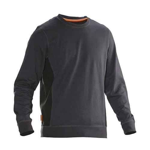 Jobman 65540220 sweater trui - grijs