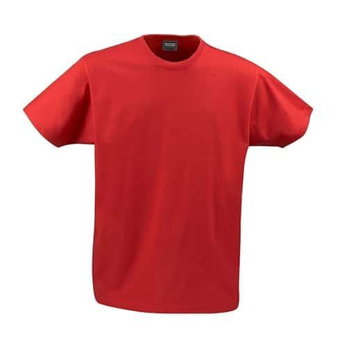 Jobman 65526410 T-shirt - rood