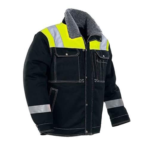Jobman 65117913 winterjas - zwart