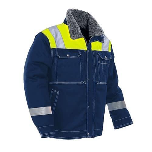 Jobman 65117913 winterjas - blauw