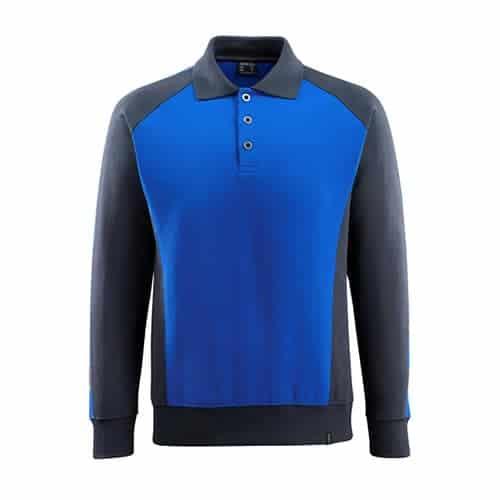 Mascot Magdeburg polo sweatshirt - blauw