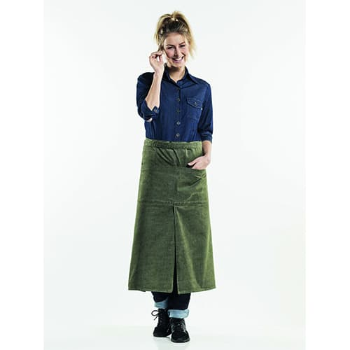 Chaud Devant 4-Pockets Denim sloof - groen