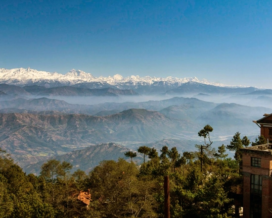 himalayas view from nagarkot
