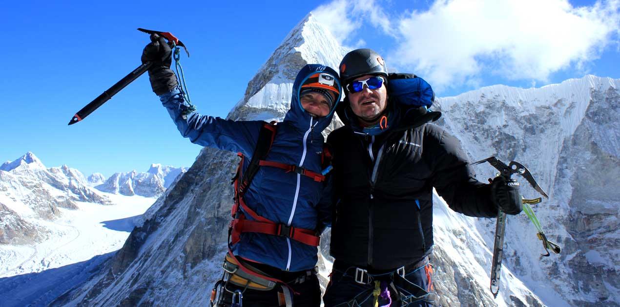 Pachermo peak summit