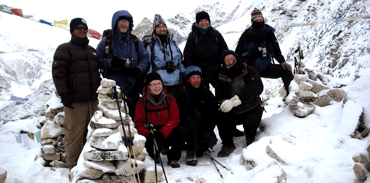Everest Base Camp group photos