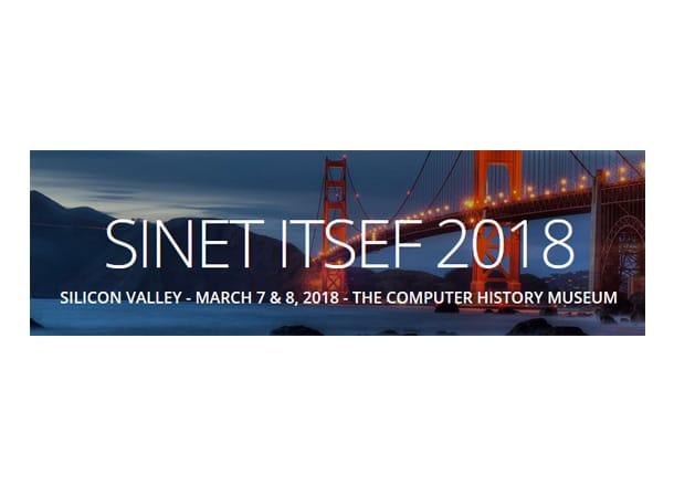 SINET ITSEF 2018