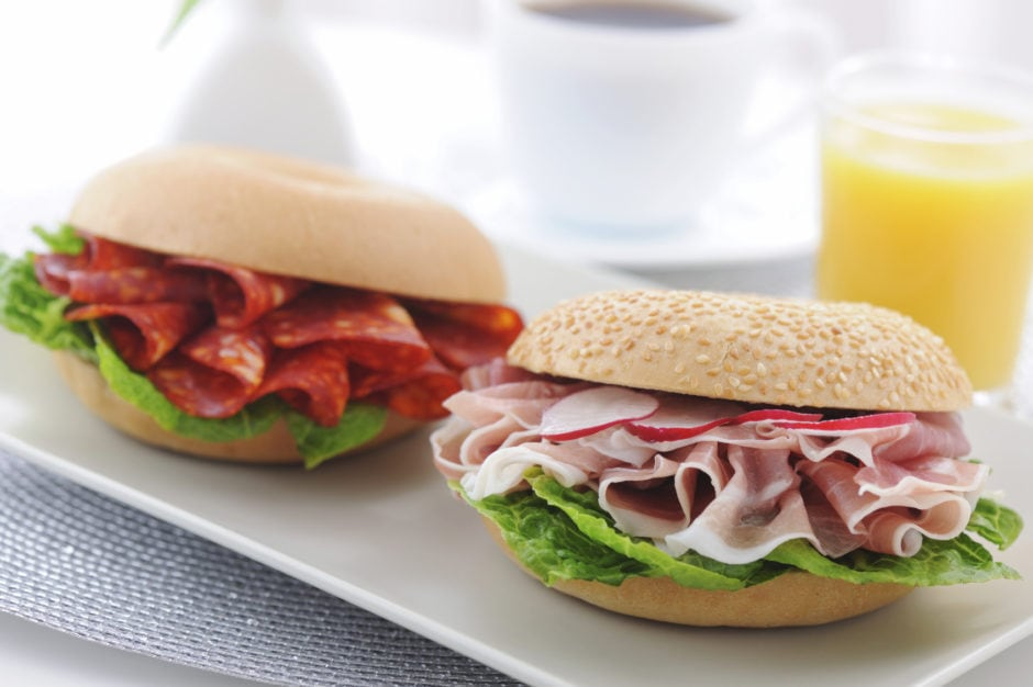 Bagels Proscuitto & ham