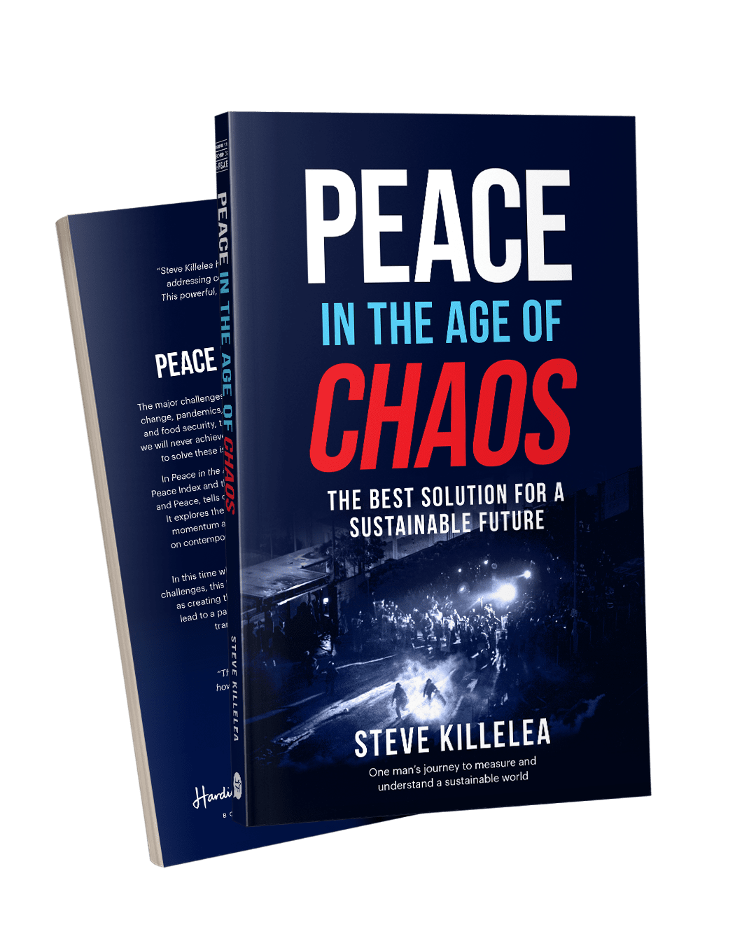 PeaceInChaos_Book_Front_Back_Video