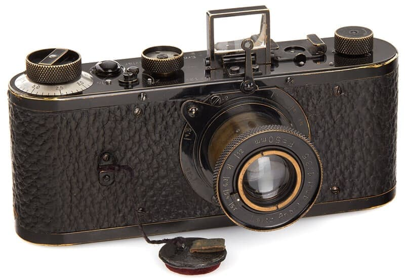 Leica 0-series no. 122 the most expensive camera