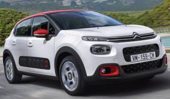 Renting Citroën C3 PureTech S&S 82cv Business full