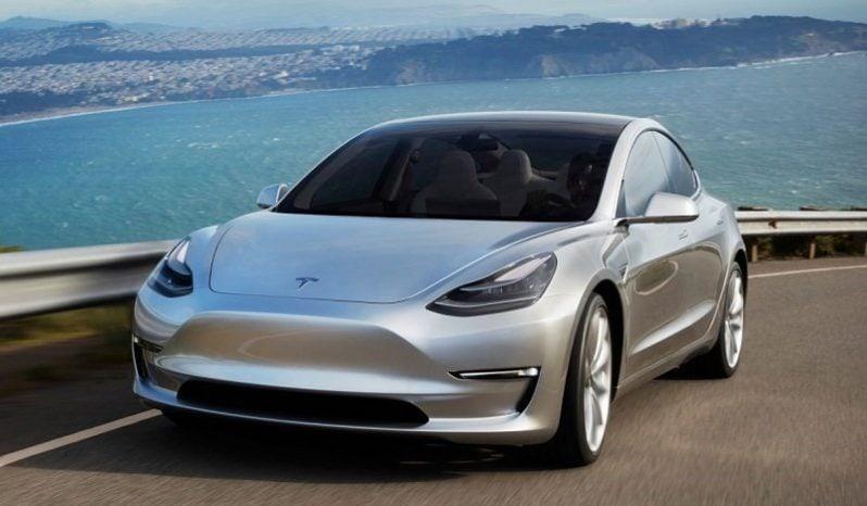 Renting Tesla Model 3 full