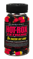 Biotest Hot Rox Extreme Fat Loss Supplement