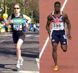 Marathon Runner vs. Sprinter