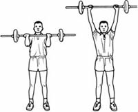 Standing Military Press | Shoulder Press